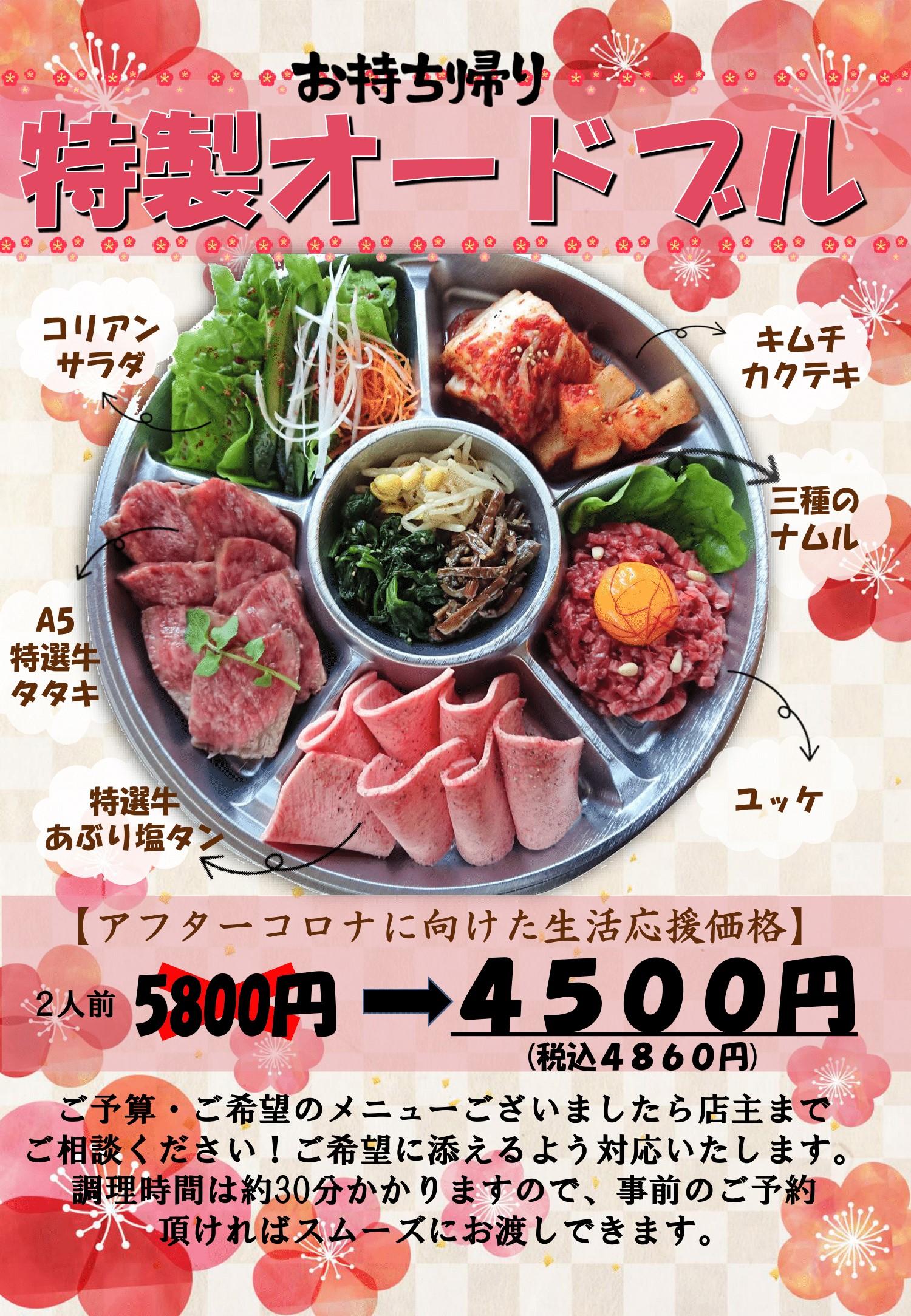 オードブル4500円PDF-1